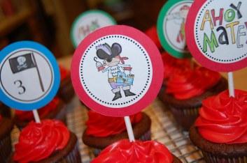 Pirate Cupcakes 2